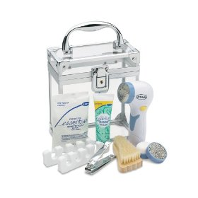 Dr. Scholl's DR5555P1 Foot Care Gift Set, White/Blue