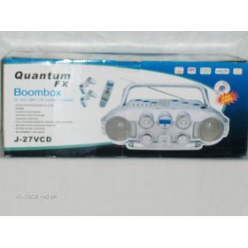 Quantum Fx Boombox Cd/vcd/mp3/fm Stereo/tv Game