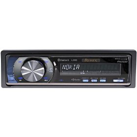 Pioneer Premier DEH-P700BT - Radio / CD / MP3 player / digital player - Full-DIN - in-dash - 50 Watts x 4
