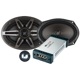 MB Quart Premium PVI269 6-Inch x 9-Inch 2-Way Component/Convertible Coaxial Speakers