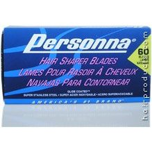 Personna Hair Shaper Blades Stainless Steel - Box Pack of 60