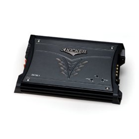 Kicker 08ZX7501 750-Watt Class D Mono Subwoofer Amplifier