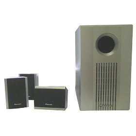 Pioneer S-FCRW240W-s Home Theater 4 Pieces Speaker System