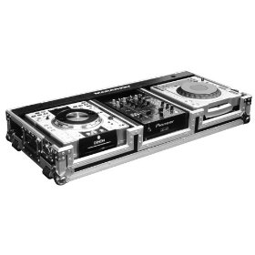 Holds 2 X Large Format Cd Players: Pioneer Cdj1000, Stanton, Technics Sldz1200 + 10 Mixer W/ Wheels. Holds 10-inch Mixers Such As: Rane, Numark, Denon