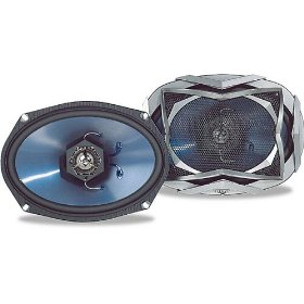 KICKER KS69 - Car speaker - 90 Watt - 2-way - coaxial - 6