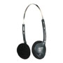 Coby cvh47 black headphone open air type
