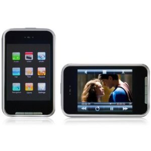 4 GB MP4/MP3 Player with FM Radio, Voice Recorder, USB 2.0, and 3-inch LCD Touchscreen