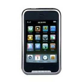 4GB Touch Screen MP3 Player 2.8 Inch with 1.3 MP Camera and FM Radio