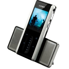 Coby MP735-2G MP3 Player with 1.66-Inch, TFT Color LCD, 2GB Flash Memory, FM and Stereo Speakers (Black)