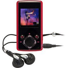 Nextar 2 GB MP3/MP4 Player (Red)