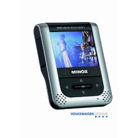 Minox DMP-3 Color Video and Digital Music MP3 Player with Built-in 512mb Flash Memory & SD Expansion Card Slot 61605