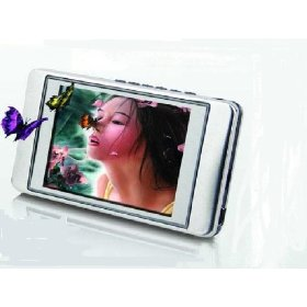 GooMax 4gb Mp3/mp4 Player with 2.8 Inch High Definition Screen (Plays FLV Video Without Conversion)
