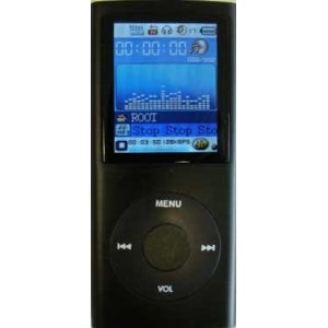4th Generation - MP3/MP4 Player with 4GB