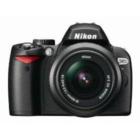 Nikon D60 10.2MP Digital SLR Camera with 18-55mm f/3.5-5.6G AF-S DX VR Nikkor Zoom Lens
