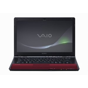 Sony VAIO VPC-CW21FX/R 14-Inch Laptop (Red)