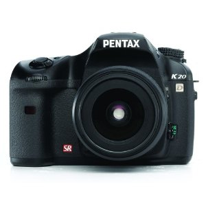 Pentax K20D 14.6MP Digital SLR Camera with Shake Reduction and DA 18-55mm f/3.5-5.6 AL II Lens