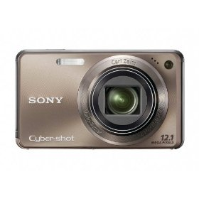 Sony Cyber-shot DSC-W290 12 MP Digital Camera with 5x Optical Zoom and Super Steady Shot Image Stabilization (Bronze)