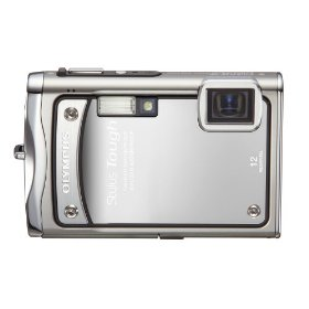 Olympus Stylus Tough-8000 12 MP Digital Camera with 3.6x Wide Angle Optical Dual Image Stabilized Zoom and 2.7-Inch LCD (Silver)