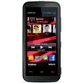 Nokia 5530 XpressMusic Unlocked Phone with Touchscreen--U.S. Version with Warranty (Black)