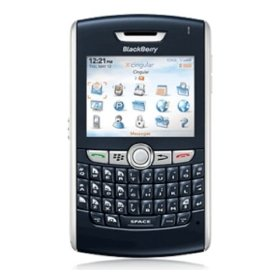 BlackBerry 8800 Unlocked Phone with Quad Band, Bluetooth, Music Player, Card Slot, Full Qwerty KeyBoard--International Version with No Warranty (Navy Blue)