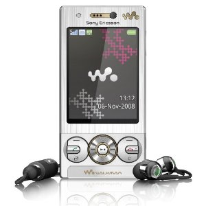 Sony Ericsson W705a Walkman Unlocked Phone with 3G, 3.2 MP, Stereo Bluetooth, and microSD (Silver)--US Version with Warranty