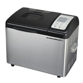 Breadman tr2500bc black chrome bread maker convection 2lb