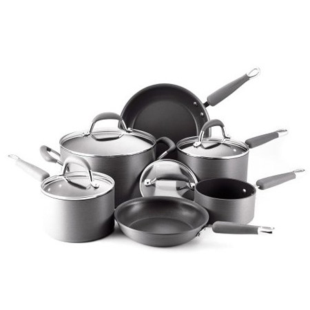 Kitchenaid 80297 10piece hard anodized nonstick cookware set