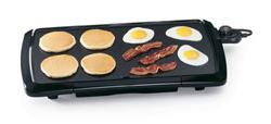 Presto 07030 griddle 20inch cool touch