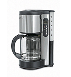Toastess dlfc381 steel coffee maker 12cup delfino