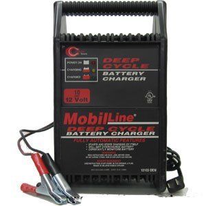 Cliplight 12 Volt, 10 Amp Battery Charger