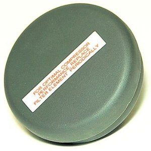 VIAIR VIAIR-92630 Metal Housing Direct Inlet Air Filter - 1/4 in. NPT