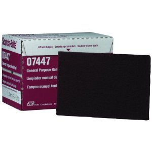 3M 07447 Scotch-Brite Maroon General Purpose Hand Pad