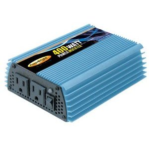 Power Bright PW400-12 Power Inverter 400 Watt 12 Volt DC To 110 Volt AC