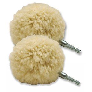 3 inch Lake Country Wool-Ball Polishing Ball-2 pack