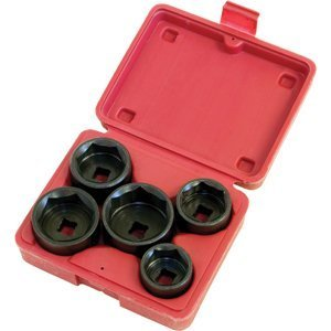 5 Pc. Low Profile Filter Socket Set
