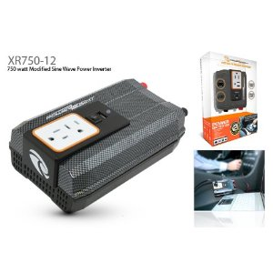 Power Bright XR750-12 750 Watt 12 Volt DC To 110 Volt AC Power Inverter With USB