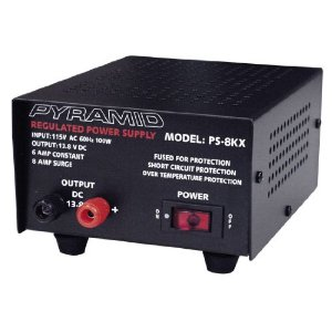Pyramid PS8KX 6 Amp Power Supply
