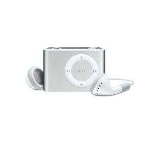 Apple iPod shuffle 1 GB Silver (2nd Generation) OLD MODEL