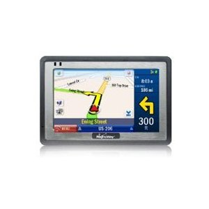 RightWay 400 GPS Navigator with 4.3-Inch Screen, Mulit-stop Route Optimizer and Gas Calculator