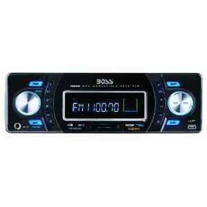 Boss 755DBI Solid State MP3 Receiver with Built-In iPod Docking Station