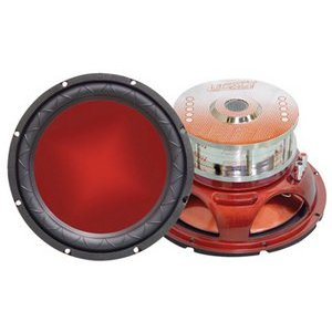 Legacy LW1557D 15-Inch 1400 Watt Legacy Red Series Subwoofer