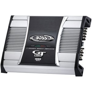 Boss Audio Riot Gt580 1000Watt 2-Channel Mosfet Power Amplifier