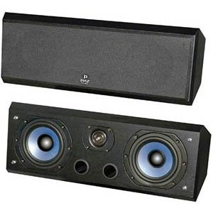Pyle Home PSC5 Dual 2-Way 5-Inch 300-Watt Center-Channel Speaker