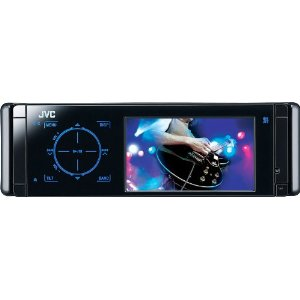 JVC Arsenal KD-ADV49 DVD/CD Receiver with Motorized 3.5