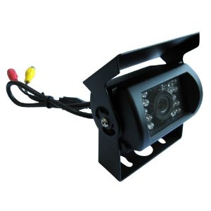 Pyle - PLCMB20; Universal Mount Infrared Adjustable Angle Rear View Camera with Anti-glare Shield