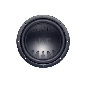 JVC CS-GW1200 12-Inch Dual Voice Coil Subwoofer with 1200 Watts Max. Power Handling (Black)