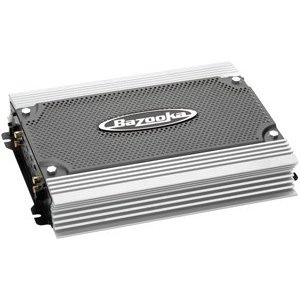 Bazooka ELA1800 Mono subwoofer amplifier -- 800 watts RMS x 1 at 2 ohms