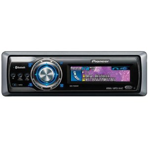 Pioneer Deh-P9800Bt In-Dash Cd/Mp3 Receiver With Oel Display