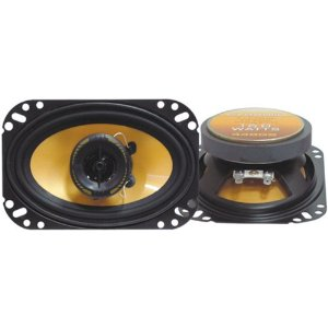 Pyramid 448GS 4-Inch x 6-Inch 160-Watts 2-Way Speakers