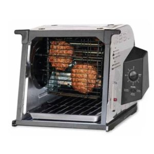 Ronco ST2000SSGEN Showtime Petite Rotisserie, Stainless Steel